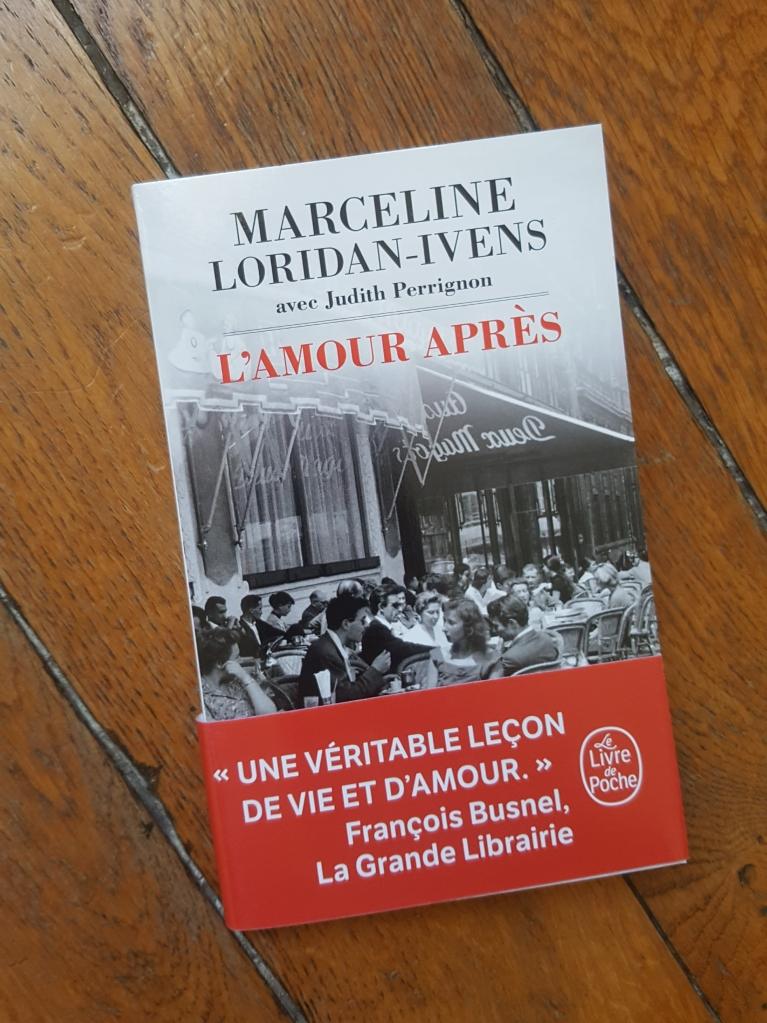 L'amour après, Marceline Loridan-Ivens et Judithe Perrignon (Le Livre de Poche, 2019)
