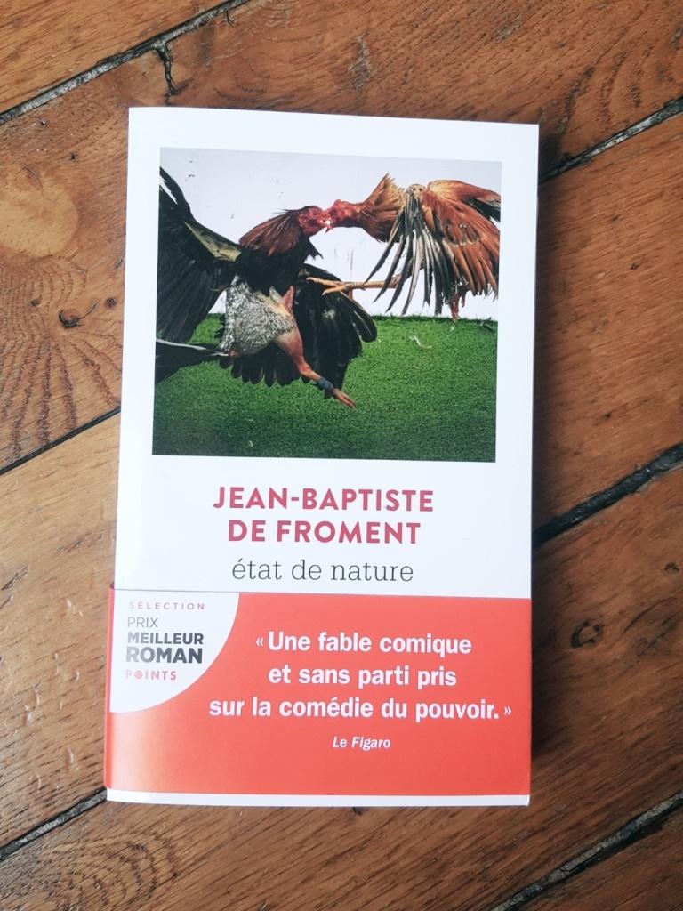 Etat de nature, Jean-Baptiste de Froment (Points, 2020)