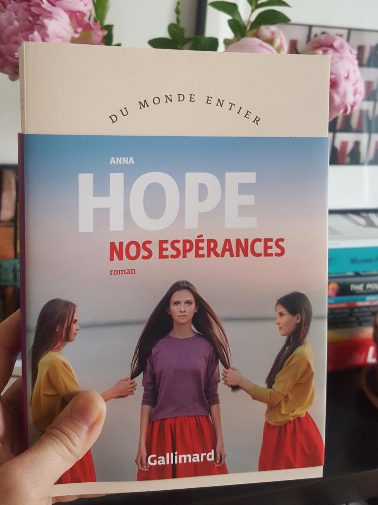 Nos espérances (Gallimard, 2020, 368 pages)
