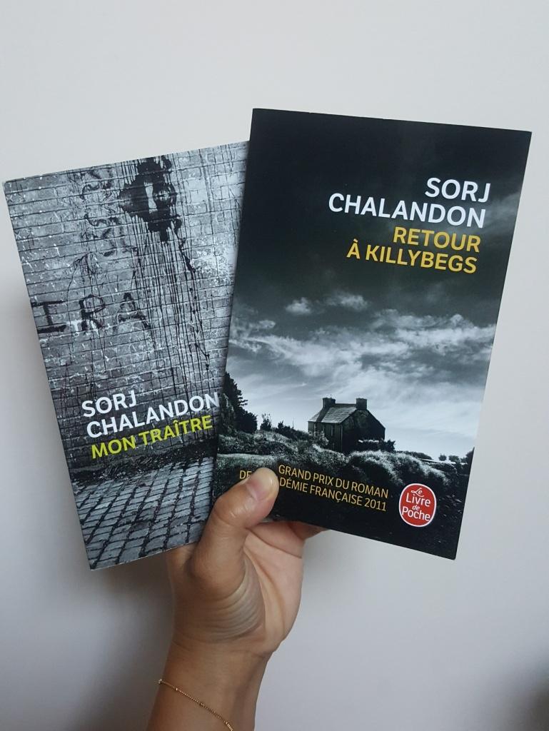 Mon traître / Retour à Killybegs, Sorj Chalandon (Le livre de poche)